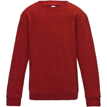 Vêtements Enfant Sweats Awdis JH30J Rouge feu