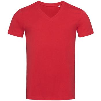 Vêtements Homme T-shirts manches courtes Stedman Stars  Rouge poivron