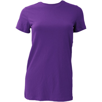 Vêtements Femme T-shirts manches courtes Bella + Canvas BE6004 Pourpre