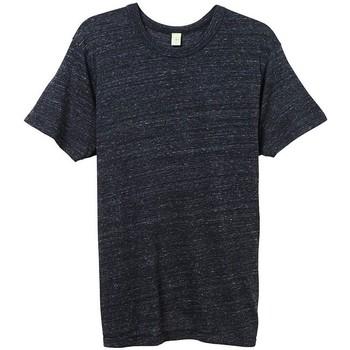 Vêtements Homme T-shirts manches courtes Alternative Apparel Jersey Noir chiné