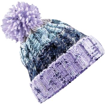 Accessoires textile Bonnets Beechfield Pom Pom Lavande