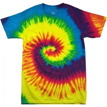 Vêtements Femme T-shirts manches courtes Colortone Rainbow Arc-en-ciel