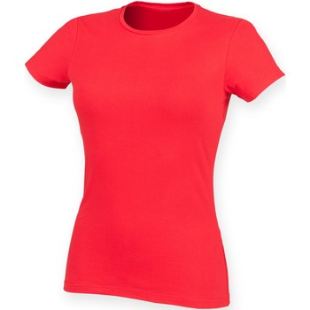 Vêtements Femme Musse & Cloud Skinni Fit Stretch Rouge vif