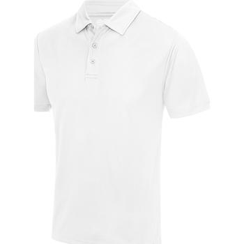 Vêtements Homme Polos manches courtes Awdis JC040 Blanc arctique