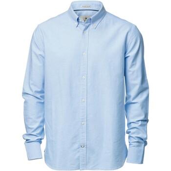 Vêtements Homme Chemises manches longues Nimbus Formal Bleu clair