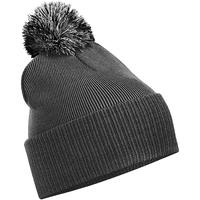Accessoires textile Fille Bonnets Beechfield Snowstar Graphite/Gris clair
