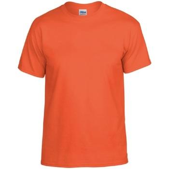 Vêtements Homme T-shirts manches courtes Gildan DryBlend Orange