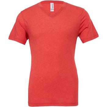 Vêtements Homme T-shirts manches courtes Bella + Canvas Canvas Rouge