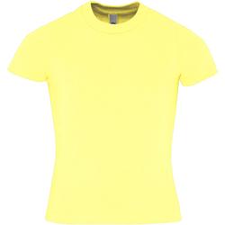 Vêtements Enfant T-shirts manches courtes American Apparel AA057 Citron
