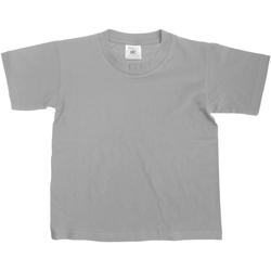 Vêtements Enfant T-shirts manches courtes B And C Exact Gris sport