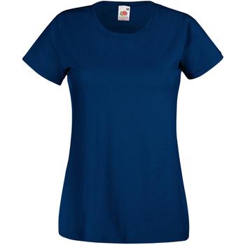 Vêtements Femme T-shirts manches courtes Universal Textiles 61372 Bleu airforce