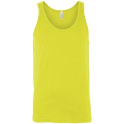 Vêtements Femme Débardeurs / T-shirts sans manche Bella + Canvas Jersey Jaune fluo