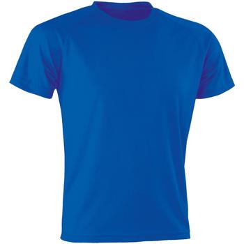 Vêtements Homme T-shirts manches courtes Spiro Aircool Bleu roi