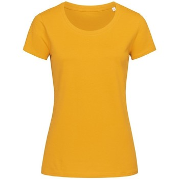 Vêtements Femme T-shirts manches courtes Stedman Stars Organic Jaune moutarde