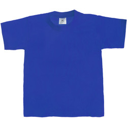 Vêtements Enfant T-shirts manches courtes B And C Exact 190 Bleu royal