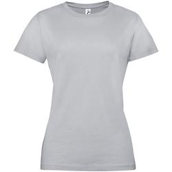 Vêtements Femme T-shirts manches courtes Sols Regent Gris