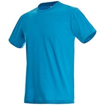 Vêtements Homme T-shirts manches courtes Stedman Classics Turquoise