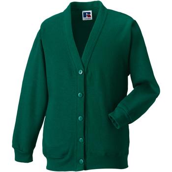 Vêtements Enfant Gilets / Cardigans Jerzees Schoolgear 273B Vert bouteille