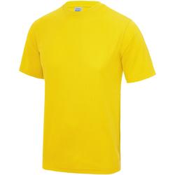 Vêtements Enfant T-shirts manches courtes Just Cool JC01J Jaune
