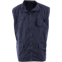 Vêtements Homme Gilets / Cardigans Duke Enzo Bleu marine