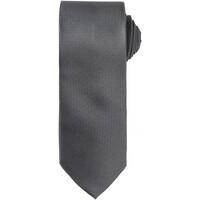Vêtements Homme Cravates et accessoires Premier Waffle Gris foncé