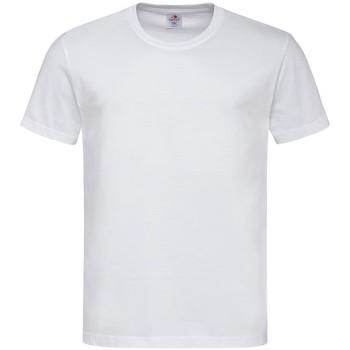 Vêtements Homme T-shirts manches courtes Stedman Comfort Blanc