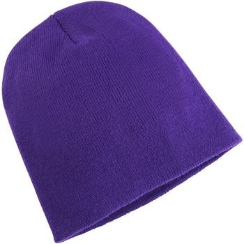Accessoires textile Bonnets Yupoong YP012 Violet
