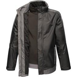 Vêtements Homme Coupes vent Regatta RG664 Noir/gris