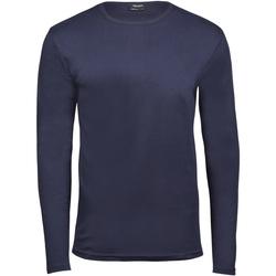 Vêtements Homme T-shirts manches longues Tee Jays TJ530 Bleu marine