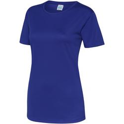 Vêtements Femme T-shirts manches courtes Just Cool JC005 Bleu