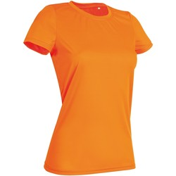 Vêtements Femme T-shirts manches courtes Stedman Active Orange