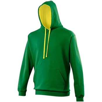 Vêtements Sweats Awdis Hooded Vert / jaune