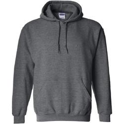 Vêtements Sweats Gildan 18500 Gris foncé chiné