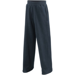 Vêtements Enfant Pantalons de survêtement Awdis JH71J Bleu marine