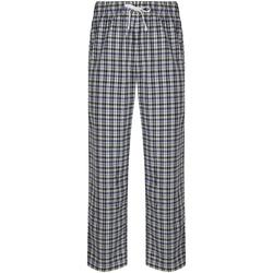Vêtements Homme Pyjamas / Chemises de nuit Skinni Fit Tartan Blanc / bleu