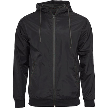 Vêtements Homme Vestes en cuir / synthétiques Build Your Brand Wind Runner Noir/ Noir
