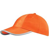 Accessoires textile Casquettes Beechfield Baseball Orange fluo