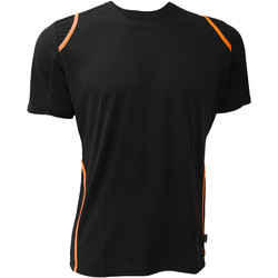Vêtements Homme T-shirts manches courtes Gamegear KK991 Noir/Orange fluorescent