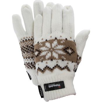 Accessoires textile Femme Gants Floso Fairisle Blanc