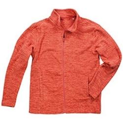 Vêtements Homme Polaires Stedman Melange Orange chiné