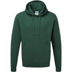 Vêtements Homme Sweats Russell Sweatshirt à capuche BC1498 Vert bouteille