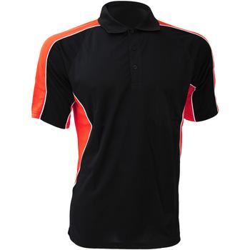 Vêtements Homme Chemises manches courtes Gamegear KK938 Noir/Rouge