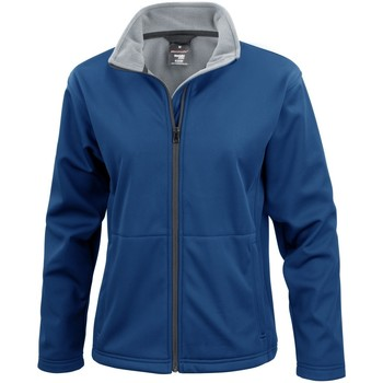 Vêtements Femme Blousons Result Soft Shell Bleu marine