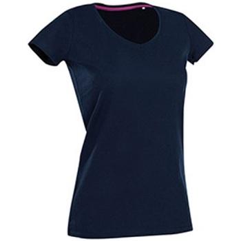 Vêtements Femme T-shirts manches courtes Stedman Stars Claire Bleu marine