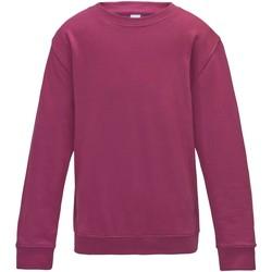 Vêtements Enfant Sweats Awdis JH30J Rose