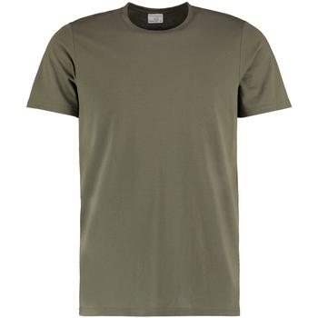 Vêtements Homme T-shirts manches courtes Kustom Kit KK504 Kaki