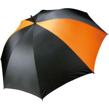 Accessoires textile Parapluies Kimood Golf Noir/Orange