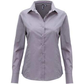 Vêtements Femme Chemises / Chemisiers Premier PR314 Acier