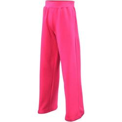 Vêtements Enfant Pantalons de survêtement Awdis  Rose