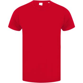Vêtements Enfant T-shirts manches courtes Skinni Fit Stretch Rouge vif